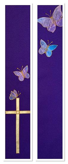 Cross & Butterflies