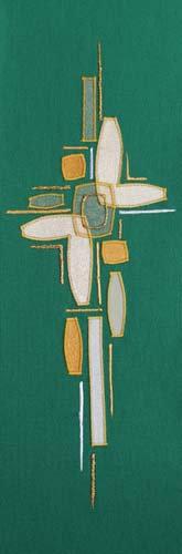 chasuble - abstract cross
