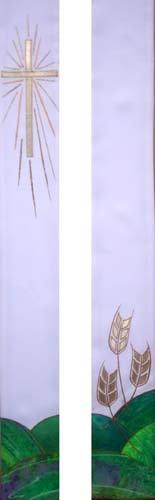 cross & wheat - full length