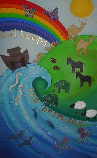 god keeps his promises banner