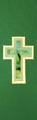 3 layer green cross