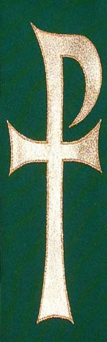 chasuble - chi rho