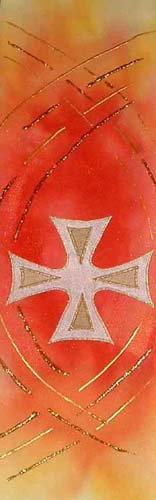 flameburst cross