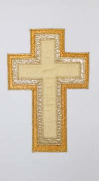 3 layer gold cross