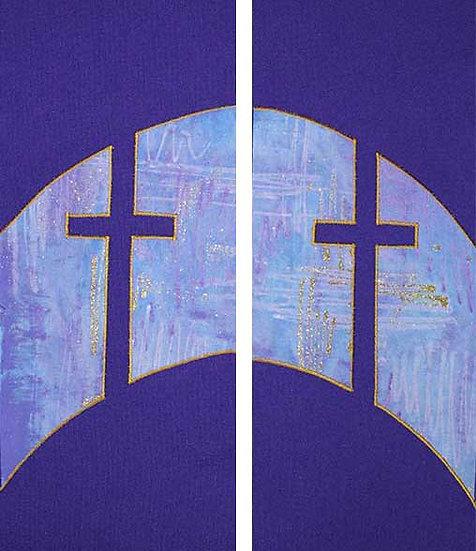 SC purple cross curve