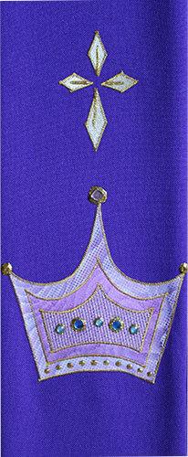advent crown & cross
