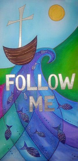 follow me banner