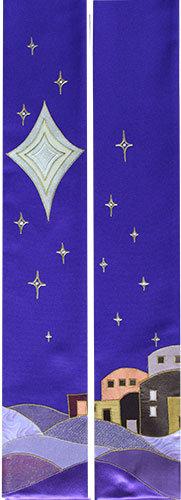 advent bethlehem & star