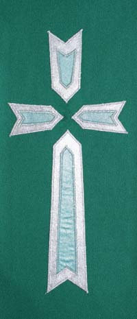 chasuble - 2 layer cross