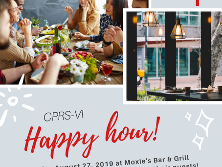 CPRS-VI Happy Hour at Moxie's