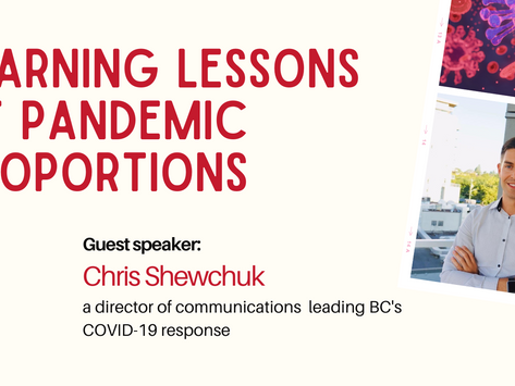 AGM: learning lessons of pandemic proportions