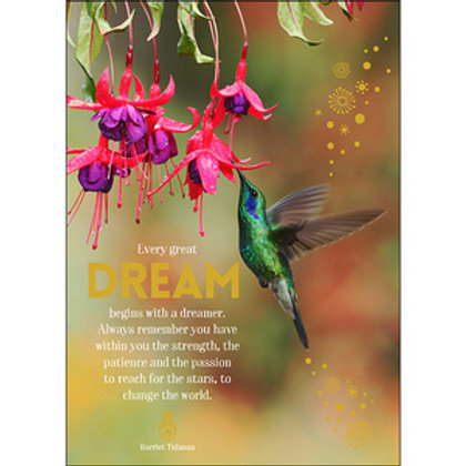 Greeting Card - Every Great Dream