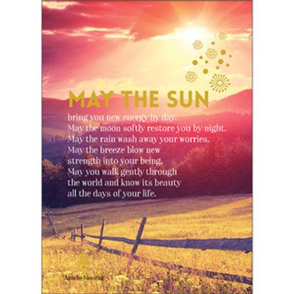 Greeting Card - May the Sun