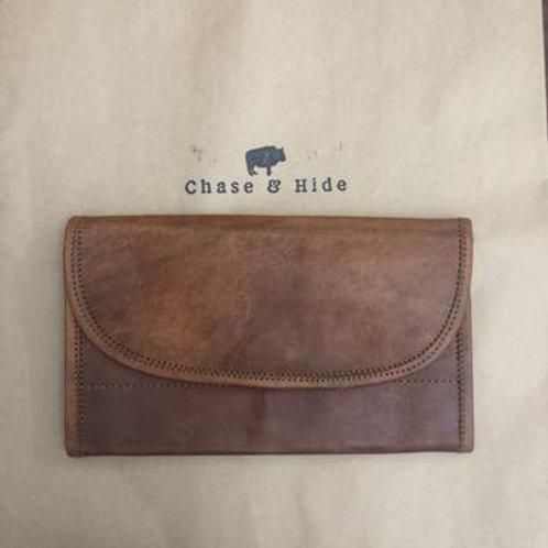 Leather Clutch Wallet Midi