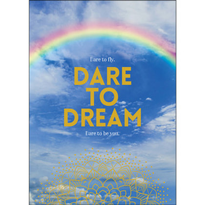 Greeting Card - Dare to Dream