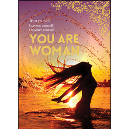 Greeting Card - You Are Woman