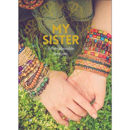 Greeting Card - My Sister