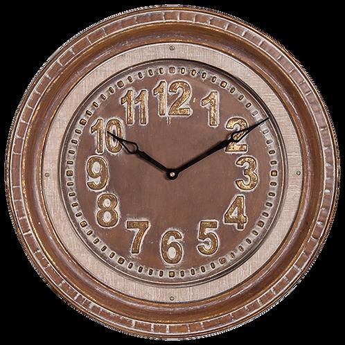 Metal Frame Wall Clock