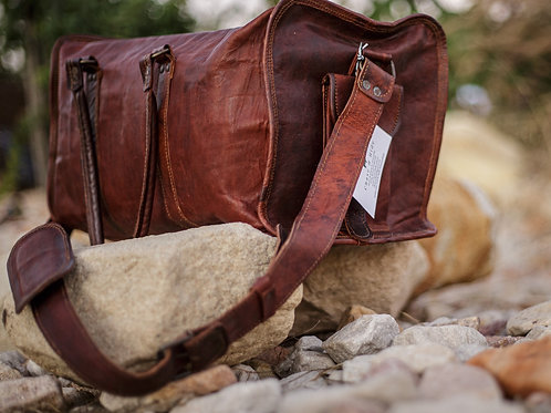 Leather Cabin Bag