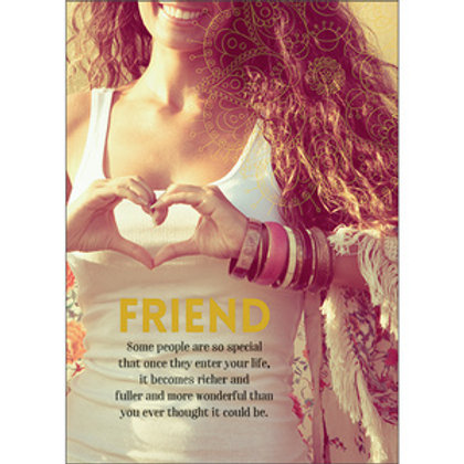 Greeting Card - Friends