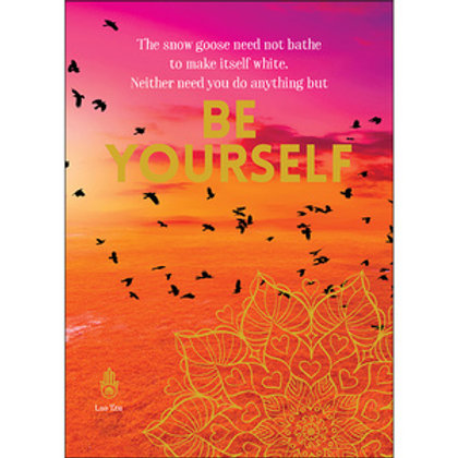 Greeting Card - Be Yourself