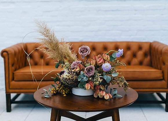 Dried + Fresh Flower Arrangement
