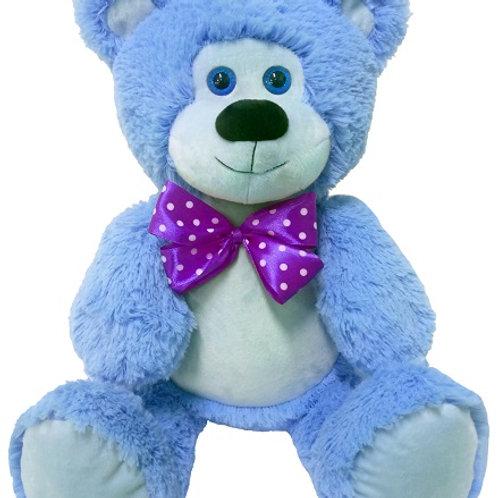 Мишка Гриша голубой (для вышивки), 50 см