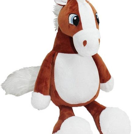Лошадь коричневая (для вышивки), 60 см
