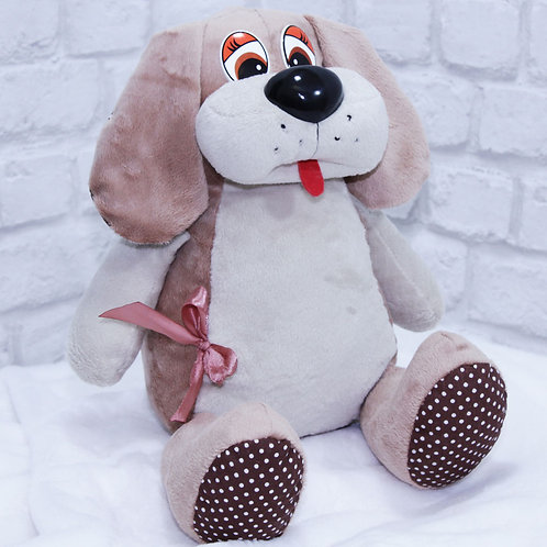 Собака Плюша, 42 см