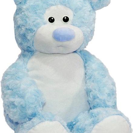 Мишка Rouz голубой (для вышивки), 50 см