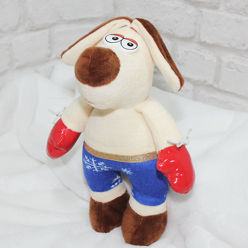Собака Боксер, 30 см