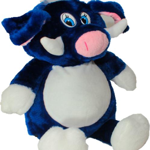Кабан Ник синий  (для вышивки), 50 см