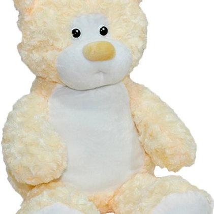 Мишка Rouz бежевый (для вышивки), 50 см