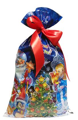 Мешочек Дед Мороз и Снегурочка - 700 гр