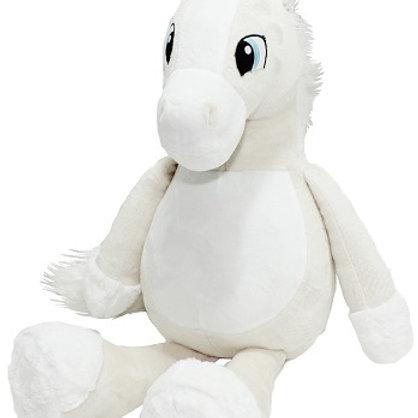 Лошадь молочная (для вышивки), 60 см