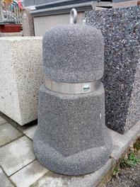 Dissuasore Greca tipo pietra lavica.jpg