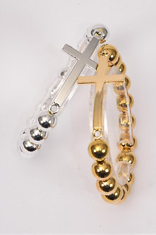 SHINY CROSS BRACELET
