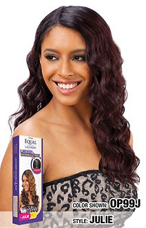FREETRESS EQUAL SYNTHETIC DEEP INVISIBLE L PART LACE WIG JULIE