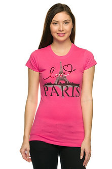Love Paris Graphic Tee
