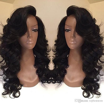 Kim K- Virgin-Brazilian Body Wave Full Lace Wig