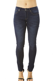 Dark Blue Fitted Skinny Jeans