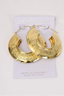 GOLD EGYPTIAN STYLE EARRINGS