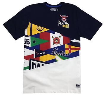 Parish Nation Geo Multi Color T Shirt