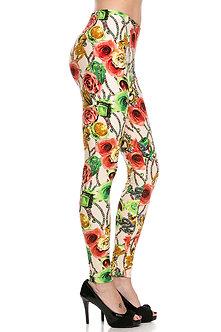Jewel Print Leggings