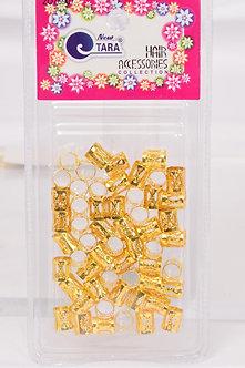 Gold Hair Beads