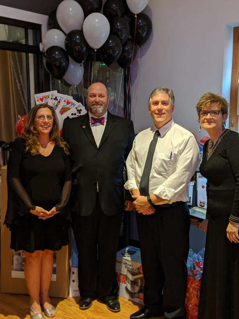 CEO Janelle Cooper, Honoree and Wayne County Clerk Mike Jankowski, CFO Lou Martino, COO Donna Robbins