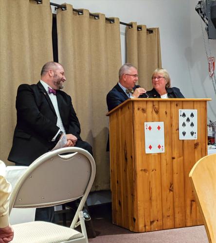 Mike Jankowski, Barry Virts and Jody Bender