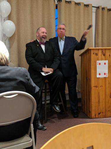 Mike Jankowski and Barry Virts