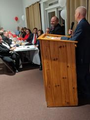 Mike Jankowski and Retired NYS Assemblyman Bob Oaks