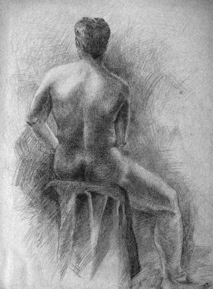 Male Sitting